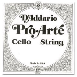 D'Addario Pro-Arte 4/4 Cello String Set Medium Gauge